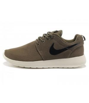 Кроссовки Nike Roshe Run коричневые