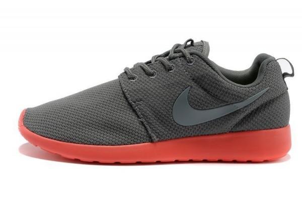 Кроссовки Nike Roshe Run оранжевые
