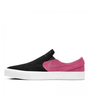 Слипоны Nike SB Zoom Janoski черные с розовым