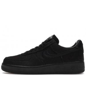 Кроссовки Nike x Stussy Air Force черные
