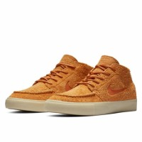 Кеды Nike SB Zoom Janoski Mid RM Crafted высокие коричневые