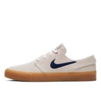 Кеды Nike SB Zoom Janoski белые с коричневым