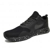 Кроссовки Nike Air Max Tavas с точками черные