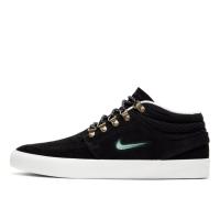 Кеды Nike SB Zoom Janoski замшевые высокие черные