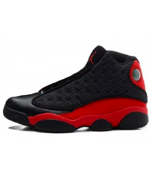 Nike Air Jordan 13 Black Red (Черные с красным)