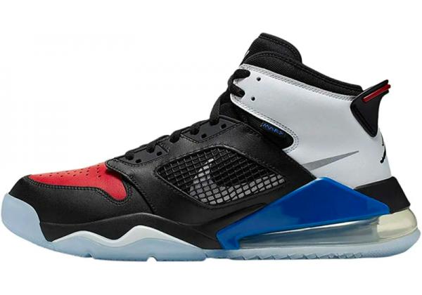 Nike Air Jordan Mars 270 Black (Черные с красным)