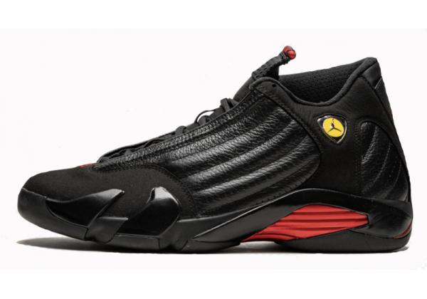 Nike Air Jordan Retro 14 Black (черные с красным)