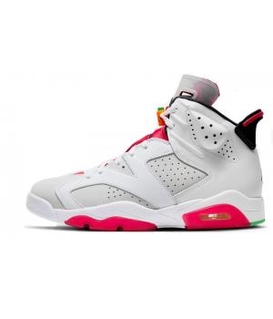 Nike Air Jordan Retro 6 White (Белые)