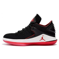 Nike Air Jordan XXXII 32 (Черные с красным)