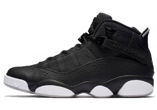 Кроссовки Nike Air Jordan черные с белым
