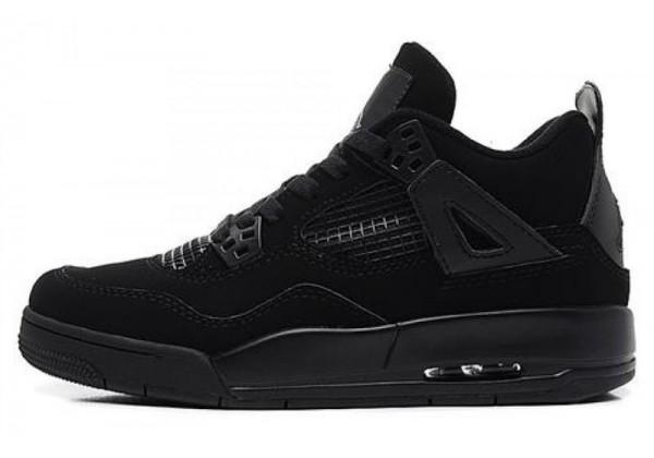 Кроссовки Nike Air Jordan моно черные