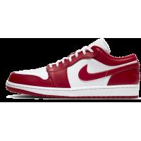 Nike Air Jordan Retro 1 Low Red White Og (красные с белым)