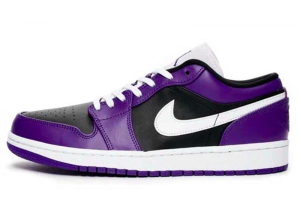 Nike Air Jordan Retro 1 Low Purple Black Og (фиолетовые)