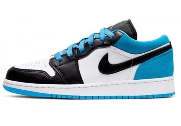 Nike Air Jordan Retro 1 Low laser blue Og (голубые)
