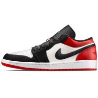 Nike Air Jordan Retro 1 Low Black White Og (Черные с белым)