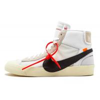 Nike Air Jordan Retro 1 High Og x Off-White Blazer (Белые)
