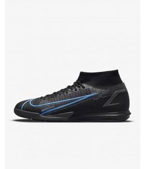Бутсы Nike Mercurial Superfly 8 Academy IC черные