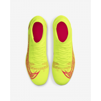 Бутсы Nike Mercurial Superfly 8 Club MG салатовые
