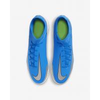 Бутсы Nike Phantom GT Club Dynamic Fit TF синие
