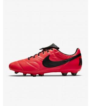 Бутсы Nike Premier II FG красные