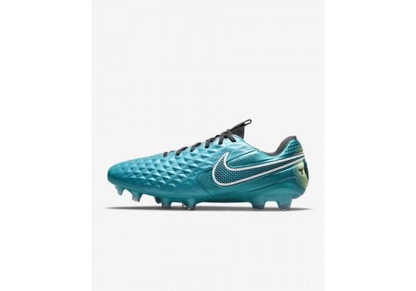 Бутсы Nike Tiempo Legend 8 Elite FG голубые
