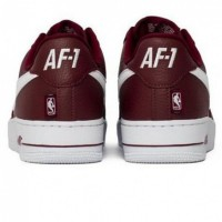 Nike кроссовки Air Force 1 LV8 NBA Red White