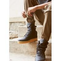 Nike кроссовки Air Force High SF AF1 Black