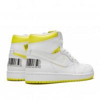 Кроссовки женские Nike Air Jordan 1 Retro High OG GS First Class Flight белые