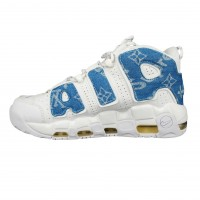 Nike Air More Uptempo x Supreme White Blue