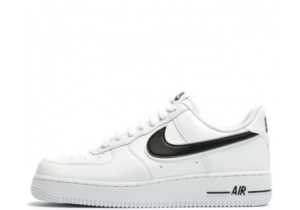 Nike кроссовки Air Force 1 Low '07 White Black