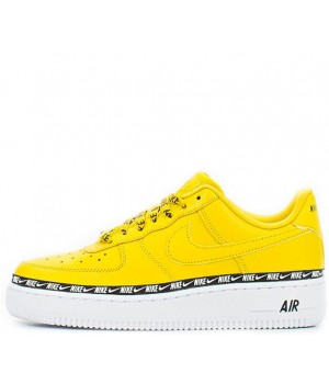 Nike кроссовки Air Force 1 '07 Se Premium Overbranded Yellow