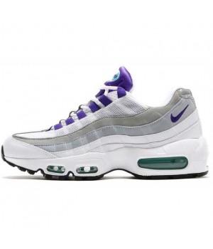 Nike Air Max 95 White Grey Purple