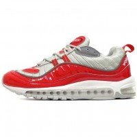 Женские кроссовки Nike Air Max 98 Supreme Red Grey