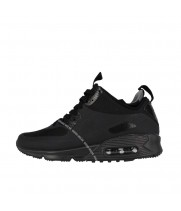 Nike кроссовки мужские Air Max 90 Sneakerboot Double Black