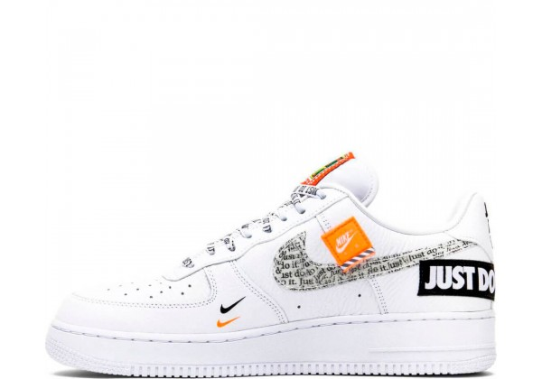 Nike кроссовки Air Force 1 Just Do It Premium White
