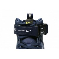 Nike кроссовки Air Force 1 07 LV8 Utility Mid Black с мехом
