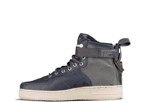 Nike кроссовки Air Force Middle SF AF1 Grey