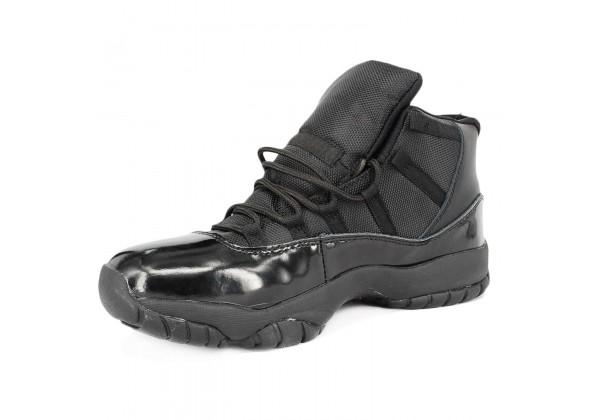 Nike Air Jordan 11 Retro кожаные моно Black