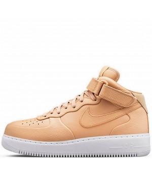 Nike кроссовки Air Force 1 Mid '07 Light Beige