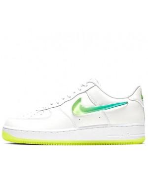 Nike кроссовки Air Force 1 LV8 NBA White Green