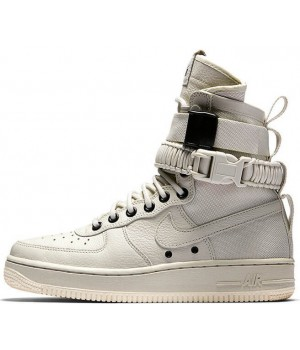 Nike кроссовки Air Force High SF AF1 Gray