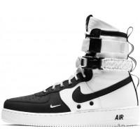 Nike кроссовки Air Force High SF AF1 Black White