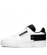 Nike кроссовки Air Force 1 Type Volt White Black