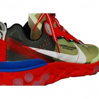 Nike x Undercover React Element 87 Grey-Red