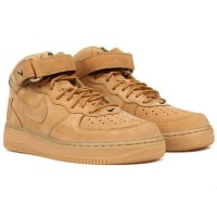 Nike кроссовки Air Force 1 Mid 07 Beige