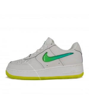 Nike кроссовки Air Force 1 Low '19 White Green