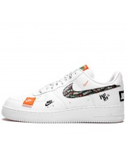 Nike кроссовки Air Force 1 Just Do It White