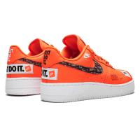 Nike кроссовки Air Force 1 Just Do It Orange