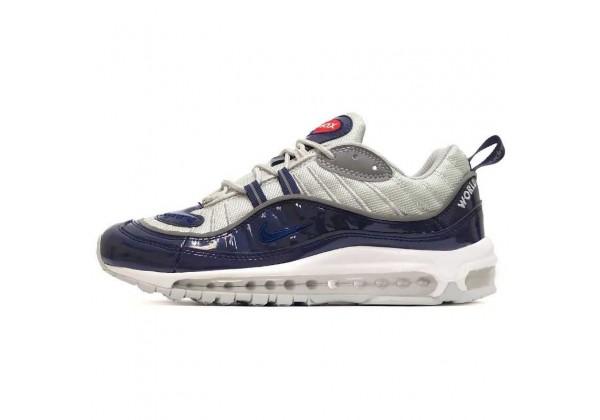 Nike Air Max 98 Supreme Dk Blue Grey