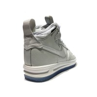 Nike кроссовки Air Force 1 Duckboot High PRM White